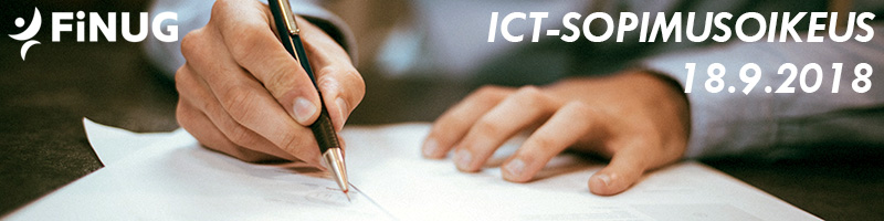 ICT-sopimusoikeus 18.9.2018