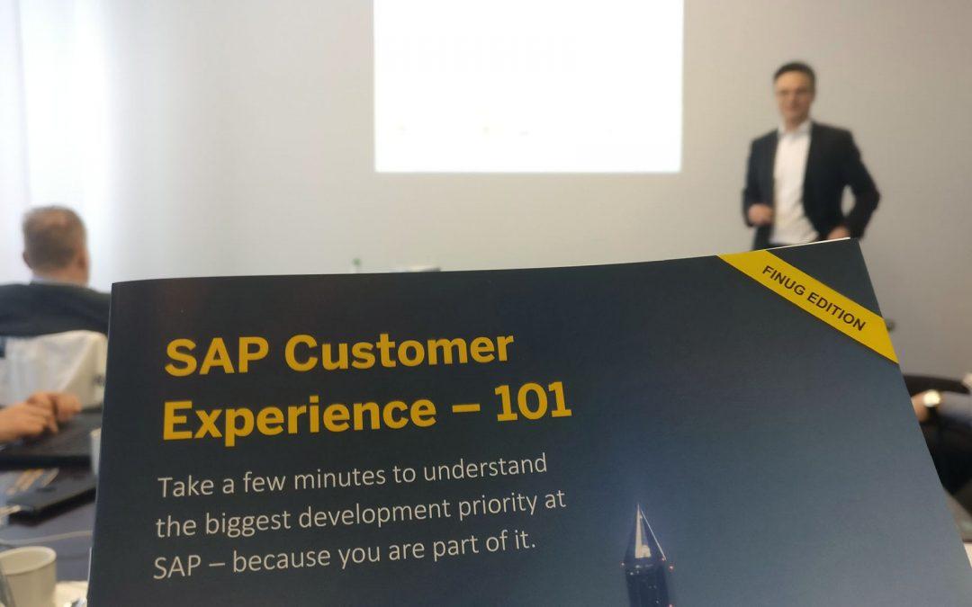 SAP Finug – Terveiset Walldorfista: C/4HANA, Data Hub, Leonardo