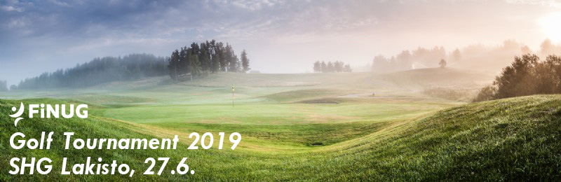 SAP Finug Golf Tournament 2019