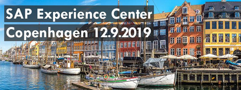 SAP Experience Center Kööpenhamina -vierailu 12.9.2019