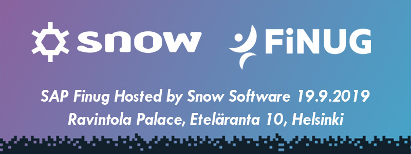 Hosted by Snow Software