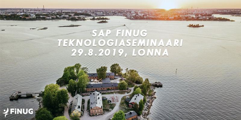 SAP Finug Teknologiaseminaari 29.8.2019 Lonna