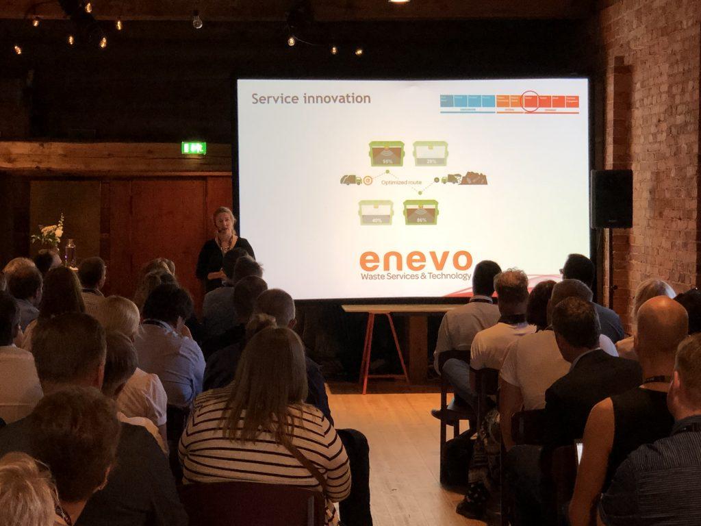 SAP Finug Teknologia Seminaari Laura Koponen Enevo