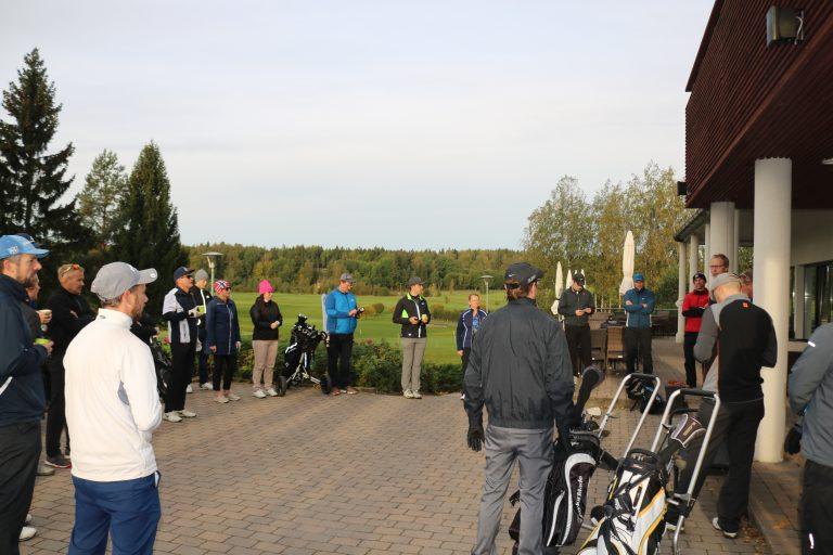 SAP Finug Golf Tournament Aikainen Aamu
