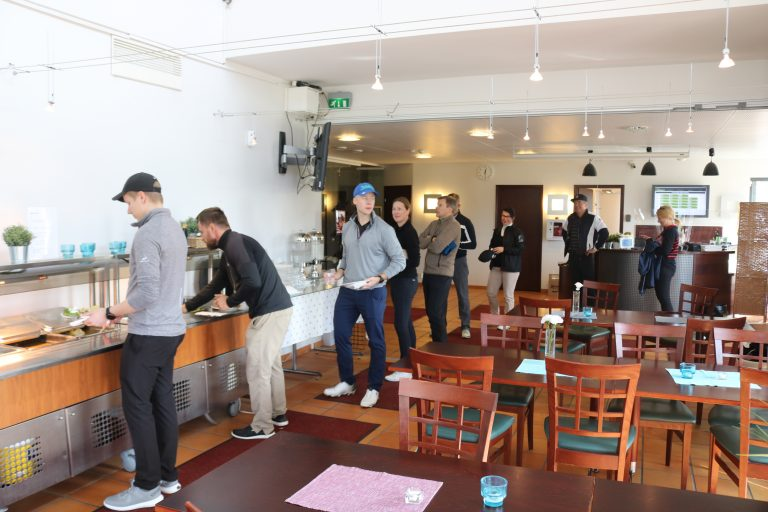 SAP Finug Golf Tournament Gumbole Golf Ruokailu