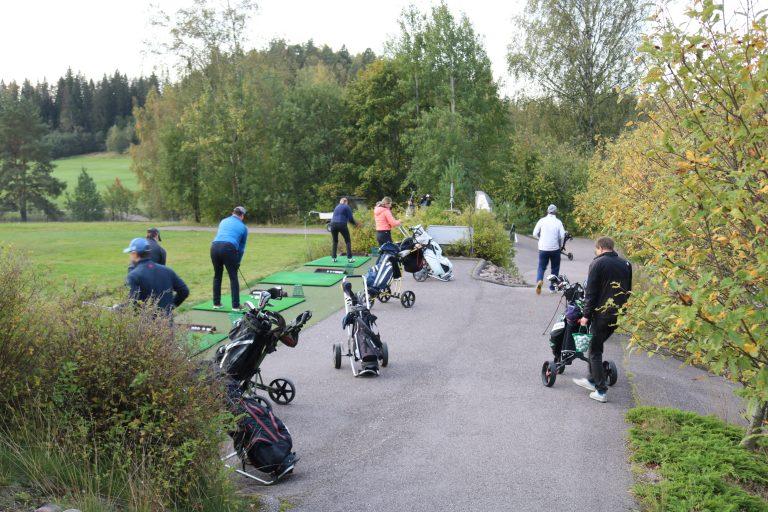 SAP Finug Golf Tournament Range 2