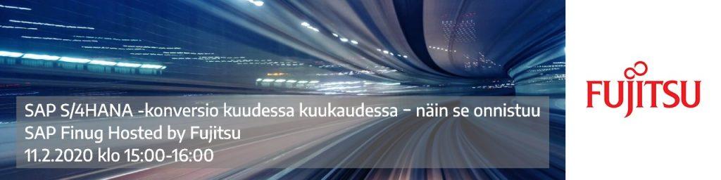 SAP Finug Hosted by Fujitsu 11.2.2021