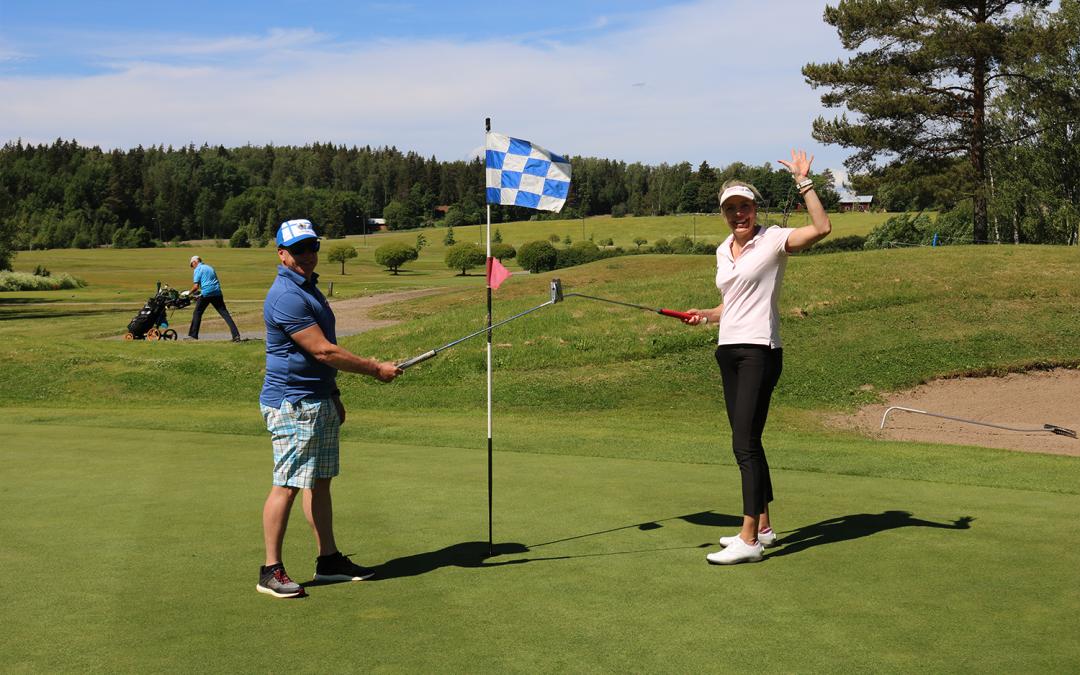 SAP Finugin golffarit kovassa vireessä – Perinteisessä golfkilpailussa huipputuloksia!