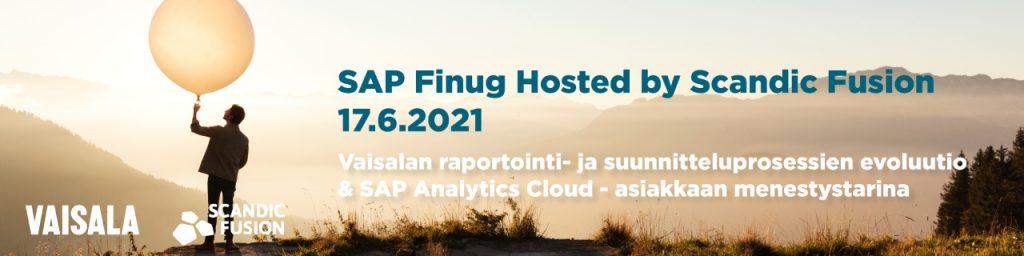 SAP Finug Hosted Scandic Fusion 17.6.2021